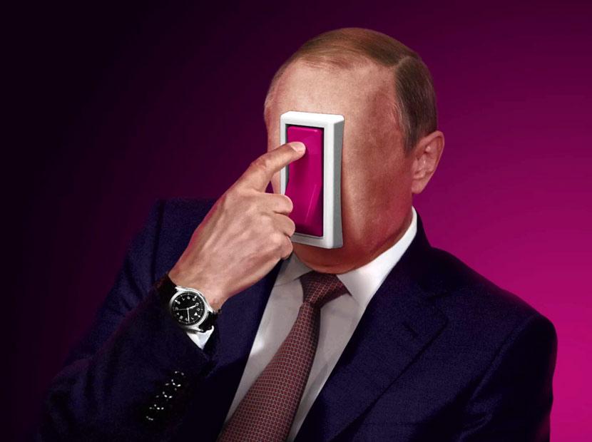 Putin turns on the rain